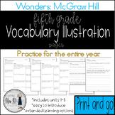 Reading Wonders Grade 5 Vocabulary Illustration Work