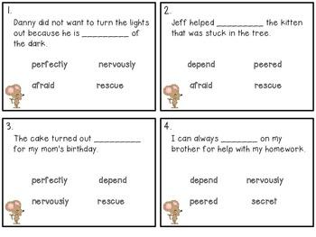 Reading Wonders ~ Help! Help! A Story of Friendship activities (Unit 1, Week 1)