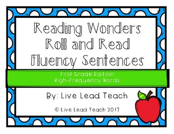 Reading Wonders High-Frequency Words Roll and Read
