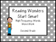 Reading Wonders High-Frequency Words Word Work Start Smart