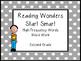 Reading Wonders High-Frequency Words Word Work Start Smart