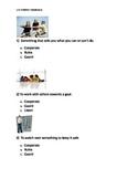 Reading Wonders K Vocabulary Unit 3 Week 1 Assessment
