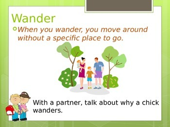 Reading Wonders K Vocabulary Unit 7 Week 1