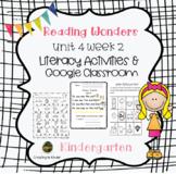 McGraw HillReading Wonders Kindergarten Unit 4 week 2