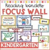 Kindergarten Focus Wall BUNDLE (aligned with 2015 Reading Wonders)
