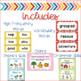 Reading Wonders Kindergarten Focus Wall (Units 5 & 6)