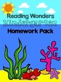 Reading Wonders Kindergarten Homework Pack