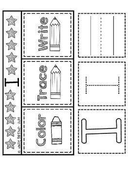 "Wonders Kindergarten Sight Word Interactive Notebook - FREEBIE ""I"""