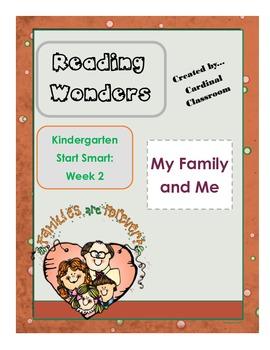 Reading Wonders Kindergarten Start Smart Week 2