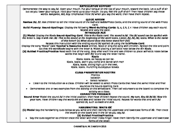 McGraw-Hill Reading Wonders Kindergarten UNIT 6 WEEK 2 Whole Group Plans