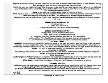 McGraw-Hill Reading Wonders Kindergarten UNIT 8 WEEK 3 Whole Group Plans