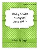 Reading Wonders Kindergarten Unit 2 Week 3