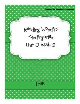 Reading Wonders Kindergarten Unit 5 Week 2