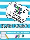 Reading Wonders Kindergarten Unit 8 Sound and Sight Word F
