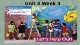 Reading Wonders Lesson PPT Unit 4 Week 3 (2018)