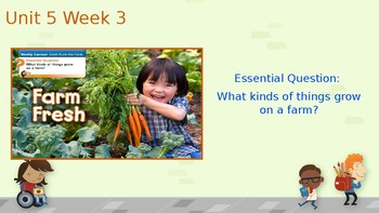 Reading Wonders Lesson PPT Unit 5 Week 3 (2019)