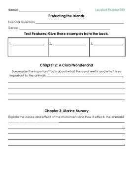 3rd Grade Reading Wonders Leveled Skill Sheets for Unit 4 Week 2