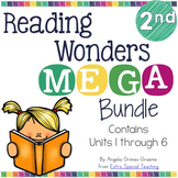 Reading Wonders MEGA Bundles Units 1 - 6 for 2nd Grade