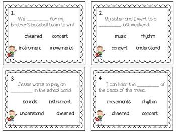 Reading Wonders ~ Many Ways to Enjoy Music (Unit 3, Week 5)