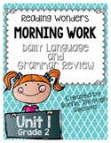 Grade 2 - Unit 1 - Morning Work - Language and Grammar - Reading Wonders