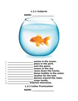 Reading Wonders Not Norman: A Goldfish Story Grammar Packet