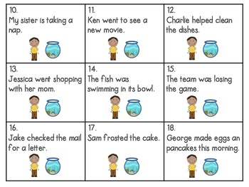 Reading Wonders ~ Not Norman: A Goldfish Story activities (Unit 1, Week 3)