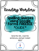 Reading Wonders Spelling- Unit 1 Week 1