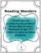 Reading Wonders Spelling- Unit 1