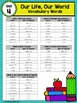 Reading Wonders Vocabulary Word Wall Cards Grade 2 Unit 4
