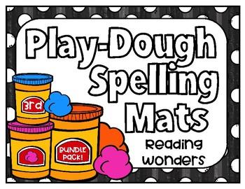 Reading Wonders Play Dough Spelling Mats BUNDLE PACK Grade 3