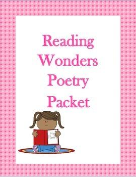Reading Wonders Poetry Packet