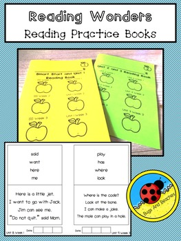 Reading Wonders Reading Practice Books (Sight Words, Phonics)
