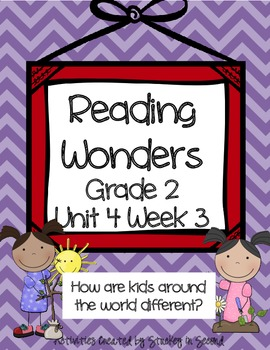Reading Wonders Companion Pack Grade 2 Unit 4 Week 3