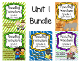 Reading Wonders Grade 2 UNIT 1 BUNDLE (All 5 Weeks!)
