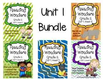 Reading Wonders Grade 2 UNIT 1 BUNDLE (All 5 Weeks!)