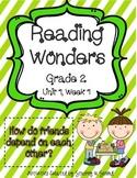 Reading Wonders 2013 Companion Pack Grade 2 Unit 1 Week 1