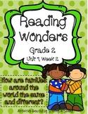 Reading Wonders Companion Pack Grade 2 Unit 1 Week 2