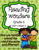 Reading Wonders Grade 2 Unit 1 Week 2