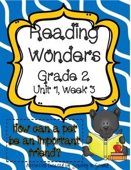 Reading Wonders Grade 2 Unit 1 Week 3