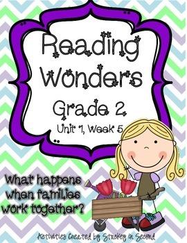Reading Wonders Grade 2 Unit 1 Week 5