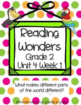 Reading Wonders Companion Pack Grade 2 Unit 4 Week 1
