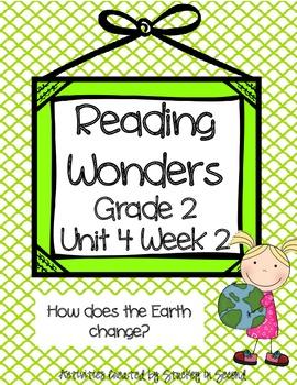 Reading Wonders Grade 2 Unit 4 Week 2