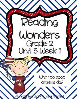 Reading Wonders Grade 2 Unit 5 Week 1