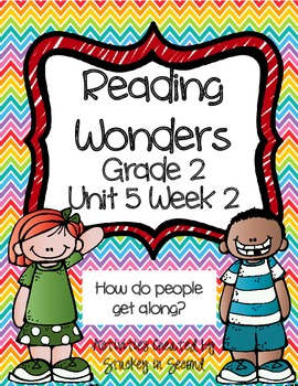Reading Wonders Companion Pack Grade 2 Unit 5 Week 2