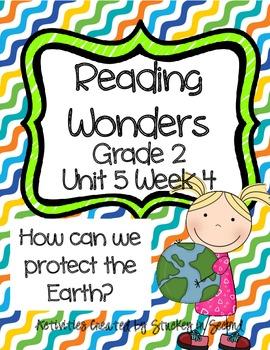 Reading Wonders Grade 2 Unit 5 Week 4