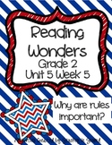 Reading Wonders Companion Pack Grade 2 Unit 5 Week 5