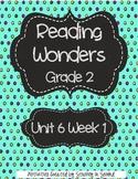 Reading Wonders Companion Pack Grade 2 Unit 6 Week 1