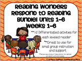 Reading Wonders Respond to Reading Gr 2 Units 1-6 Weeks 1-