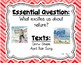 Reading Wonders Second Grade Essential Questions - Unit 4, Chevron Theme
