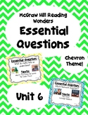 Reading Wonders Second Grade Essential Questions - Unit 6,